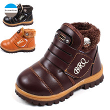 2017 1 to 5 years old kids winter cotton boots baby boys and girls toddler shoes keep warm snow boot kids sneakers high quality