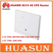 Original unlocked CAT4 150Mbps Huawei B315 4G LTE CPE Wireless Router wifi device up to 32 users PK B593S-22