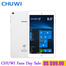 CHUWI Hi8 Pro Dual OS Tablet PC Windows 10 Android 5.1 Intel Atom Cherry Z8350 Quad core 2GB RAM 32GB RAM 1920x1200 Screen