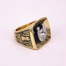 USA size 8 to 14! Ipdelover 1970 Baltimore Colts Super Bowl 5 world championship rings replica solid ring drop shipping(China)