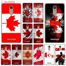 Lavaza Canada flag toronto maple leafs Case for Xiaomi Mi 6 5 5s mi6 mi5 mi5s Plus Redmi 3 3S 4 4X 4A Pro Prime Note 2 3 Pro(China)