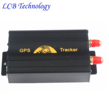Power Supply Disconnection Alarm GPS Vehicle Tracking Device TK103A GPS Tracker Car Free Shipping