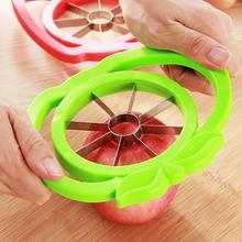 Free Shipping Fruit Slicer Apple Slicer Knife Large Stainless Steel Apple Fruit Cutter Cooking Tools [N1041](China)