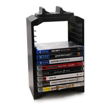 Топ Multifunactional 5 V игра башня Disk Storage Стенд Комплект контроллер зарядки для Playstation 4 PS4/Slim (черный)(China)