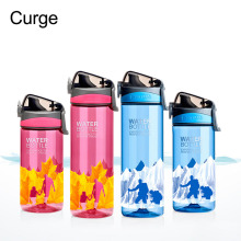 CURGE My Xmas Gift 620ml Plastic Water Bottle Outdoor Sports Portable Drink Bottle(China)