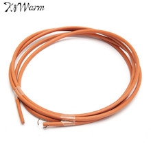 Kiwarm 180CM 5.5MM Bold Sewing Machine Leather Treadle Belt Parts Peddle Cowhide Belting for Home Sewing Machines Tools(China)