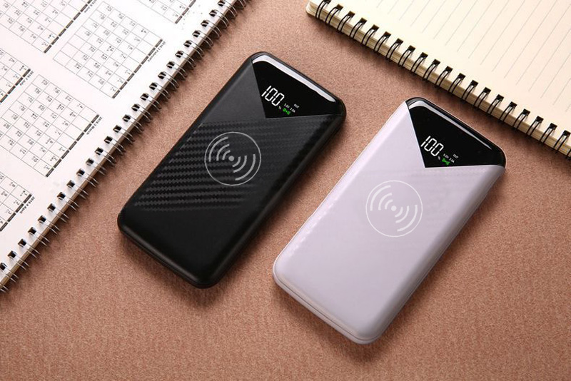 American 20000mah Power Bank External Battery Poverbank 2 Usb Led Powerbank Portable Mobile Phone Charger For Xiaomi Samsung Iphone Xs