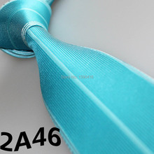 XINCAI Cheap Sell !2017 Latest Style Fashion/Business Sky Blue/Cyan Striped/Bordure printed ties/tie forgroomsmen gifts wedding