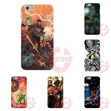 Soft TPU Silicon Cases Capa Cover new retro doctor who comic book For Apple iPhone 4 4S 5 5C SE 6 6S 7 7S Plus 4.7 5.5