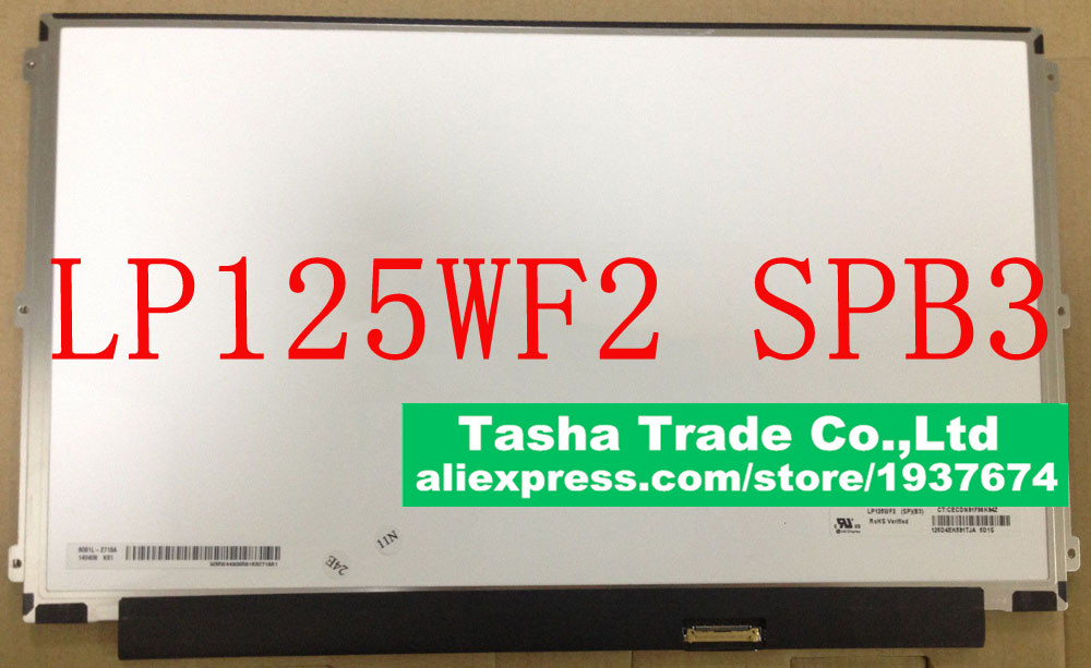 LP125WF2 SPB3 IPS FHD Full-HD 1920*1080 LP125WF2-SPB3 Laptop LCD Screen Matrix eDP 30Pin<br><br>Aliexpress