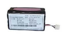 free shipping 14.8v 2750mah 18650*4S battery pack for sweeper machine lithium battery