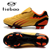 TIEBAO Professional Unisex Soccer Shoes Football Boots FG & HG Soles Soccer Cleats For Adult Training Sneakers Chuteira Futebol