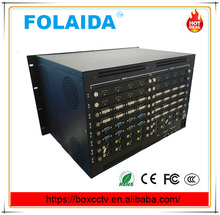 CCTV Monitoring system Security Switching hdmi 12X28 Video Matrix Switcher with BNC VGA Connector 3