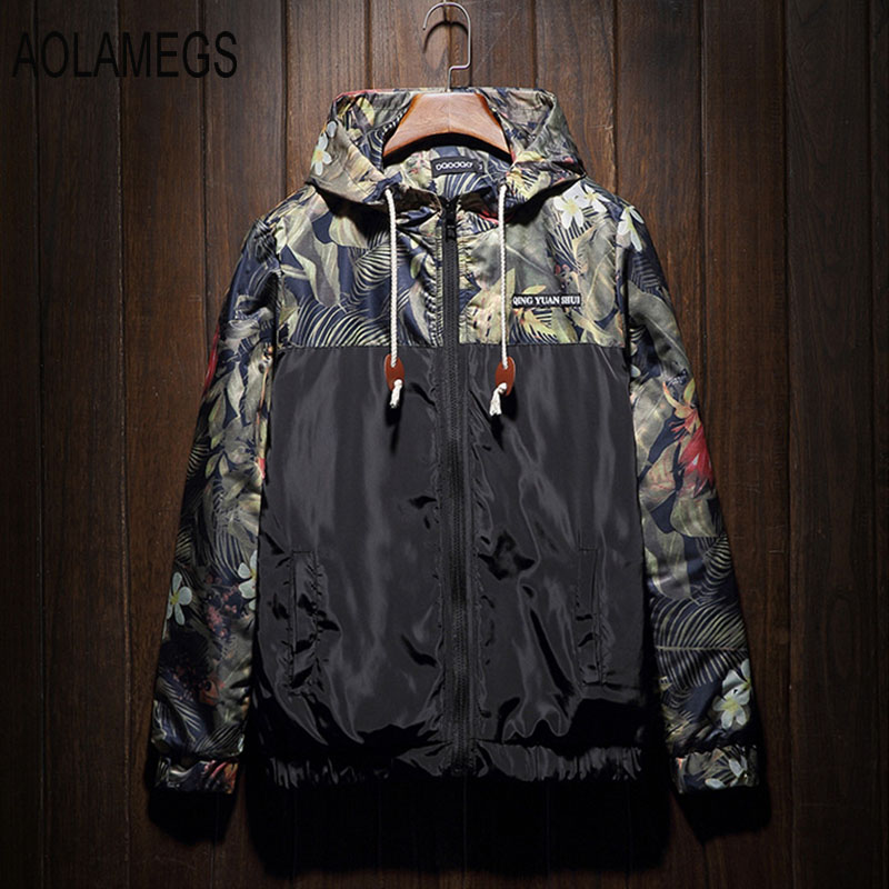Aolamegs Men Winter Jacket Cotton-Padded Warm Hooded Windbreaker Outdoors Fashion Casual Windproof Outwear Plus Size 4XL 5XLОдежда и ак�е��уары<br><br><br>Aliexpress