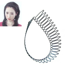 1 pcs Professional Hair Styling Tool Roll Curve Clip Pin Invisible Bang Fringe Hair Comb Clips Black Hot sale(China)