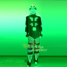 LED Suits Fashion Multi Style Luminous Clothes Glowing Talent Show Men's LED Light Clothing Ballroom Dance Dress Accessories