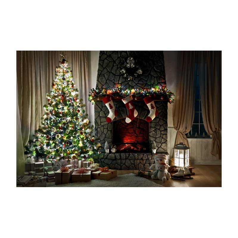 3.6X2.4m thin vinyl photography background Computer Printed Christmas Photography backdrops for Photo studio ST-496<br>