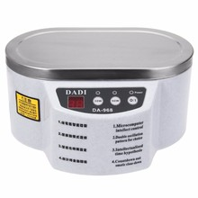 220V/110V DADI968 Mini Ultrasonic Cleaner Bath For Cleanning Jewelry Watch Glasses Circuit Board limpiador ultrasonico