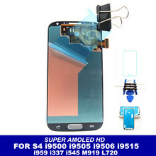 High Quality Super AMOLED LCD For Samsung Galaxy SIV S4 i9500 i9502 i9505 i9506 i9515 i959 i337 i545 M919 L720 R970 Phone Screen
