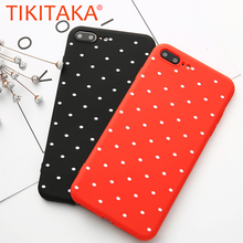 Buy Simple Dots Case iphone 6 Case Fashion Wave Point Soft TPU Silicone Phone Cases iphone 8 7 6 6s Plus 5 5s SE Back Cover for $1.05 in AliExpress store