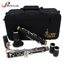 Clarinet Screwdriver Gloves Woodwind-Instrument ABS Bb Flat Soprano 17 with Cleaning-Cloth
