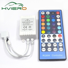 1Pcs DC 12V-24V LED 40key RGBW RGBWW Controller Dimmer 40 Keys Remote Receiver Controller For 5050 3528 2835 SMD LED Strip Light(China)