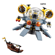Hot Flying Jelly Submarine Lepins Ninja Movie Building Block Jay Shark Man Figures Mecha Ship Bricks Toys for Kids Gifts(China)