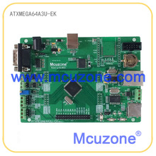 ATxmega64A3U-EK development board,12Bit ADC and DAC,7 USARTs, PDI, USB Device, XMEGA, Ethernet, CAN, RTC XMEGA64A3U ATMEL
