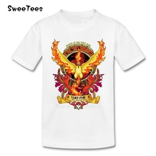 Power Of The Very Best T Shirt Baby 100% Cotton Short Sleeve Round Neck Tshirt Children Costume 2017 Tops T-shirt For Boys Girls