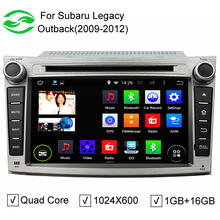 ROM 16GB Android 5.1.1 Car DVD Player Fit Subaru Legacy Outback 2009 2010 2011 2012 Subaru Stereo Radio TV GPS Navigation