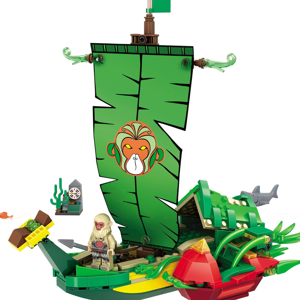 Winner 5043 Fantasy Westward Journey Banana split Building Block Brick minis Educational Toy gift leping compatible<br><br>Aliexpress