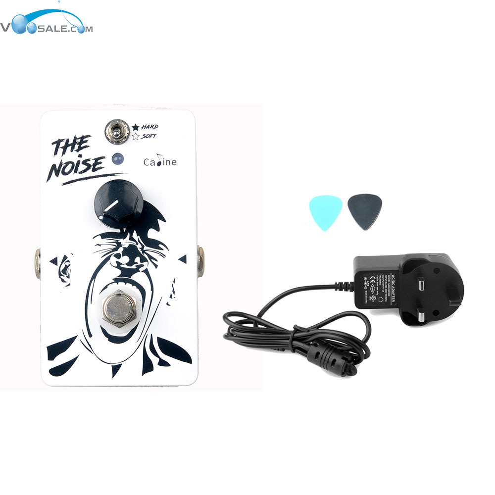 Caline CP-39 Noise Gate  Guitar Effects Pedals  with Aluminum Alloy+AC100V-240V to DC9V/1A Adapter Use Have AU UK US EU Plug<br>