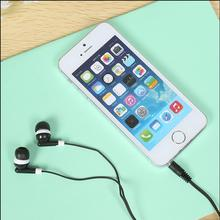 In-ear Crystal Box Earphone 3.5mm Audio Port Nice Gift Earphone For IPhone Xiaomi