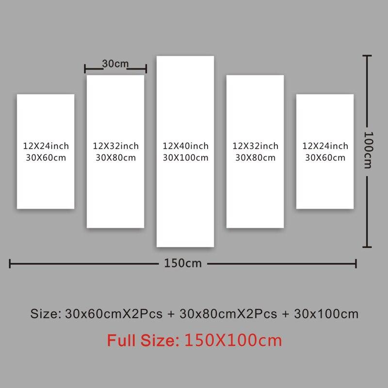 330x60cmx2+30x80cmx2+30x100cm