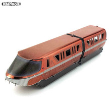 Finger Rock DIY Hand Assemble 3D Metallic Puzzles Mass Effect Bullet train Kits Model Toys WJ293