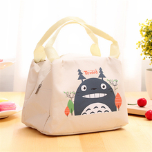 Hot Sale Oxford Lunch Bag Handbag TOTE Pouch New My Neighbor TOTORO Kawaii Lunch BOX Storage BAG Pouch Case 4 Colors HE124