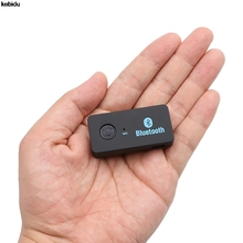 MP3 Player Universal 3.5mm Streaming Car A2DP Wireless Bluetooth Car Kit AUX Audio Music Receiver Adapter Handsfree with Mic(China)