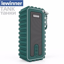 Lewinner Bluetooth Speaker Outdoor Portable Wireless Waterproof Speaker with Enhanced Bass 10W Drivers / A2DP /12-Hour Playtime