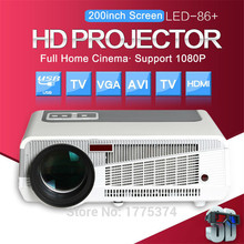 Poner Saund 5500 lumens projector tv Android home lcd theater wireless wideo usb beamer projetor proyector for data show movie
