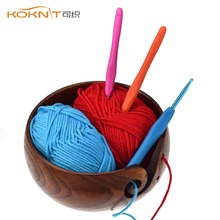 Buy KOKNIT Yarn Bowl Knitting Crochet Handmade Wooden Portable Durable Yarns Storage DIY Yarn Knitting Sewing Tools for $23.04 in AliExpress store