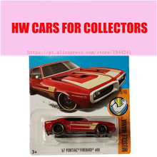 2017M Hot Wheels 1:64 67 Pontiac firebird 400 Metal Diecast Cars Collection Kids Toys Vehicle For Children Juguetes(China)