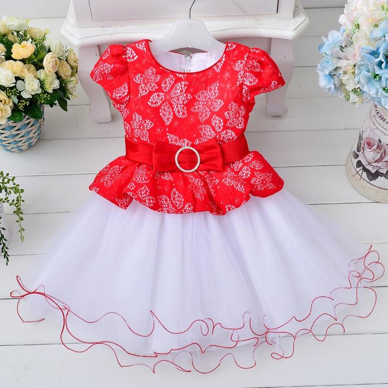 2017 Summer kids dresses for girls cotton gauze tutu dress sixty-one performance dress roupas infantis menina<br>