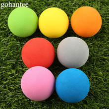 20pieces EVA Foam Golf Balls Soft Sponge Golf Monochrome Balls for Outdoor Golf Practice Balls for Golf/Tennis Training gohantee(China)