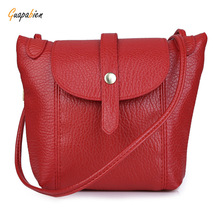 Guapabien DIY Strap Arrow Belt  Shoulder Crossbody Messenger Bag for Lady fashion Magnet Button Zipper Ladies Mini Shoulder Bag
