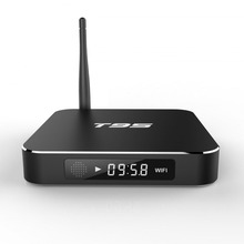 Factory price quad core A53 Penta-core GPU amlogic s905X T95 android tv box Streaming Media Player T95 Smart TV Box