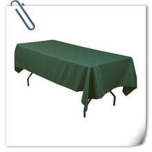Big Discount 10pcs 150*320cm Rectangle Green Oilproof table cloth 180GSM For Wedding Events &Hotel & Banquet Free shipping
