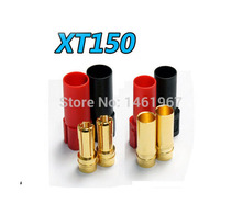 Free Shipping 2 Pairs XT150 Banana Plug Huge Instance Current 150A 6.0mm