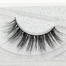 Visofree eyelashes 3D mink eyelashes long lasting mink lashes natural dramatic volume eyelashes extension false eyelashes D01(China)