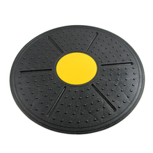 Universal Healthy Support 360 Degree Rotation Massage Balance Board Disc Yoga Sport Training Fitness Exercise Waist Wriggling(China)