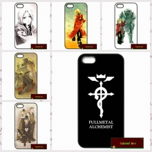 Anime Fullmetal Alchemist Logo Cover case for iphone 4 4s 5 5s 5c 6 6s plus samsung galaxy S3 S4 mini S5 S6 Note 2 3 4  AM2018